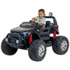 DEMO - 24V Ford Monster truck kids electric  ride on car (Black) ride on car, 4 Wheel drive and Rubber tyres