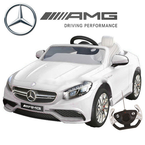 12V AMG Mercedes S63 -Ice white