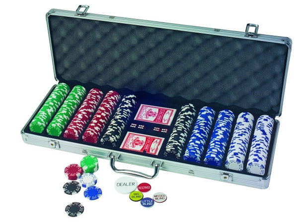 Poker Royal Flush Chipset 500 piece- numbers