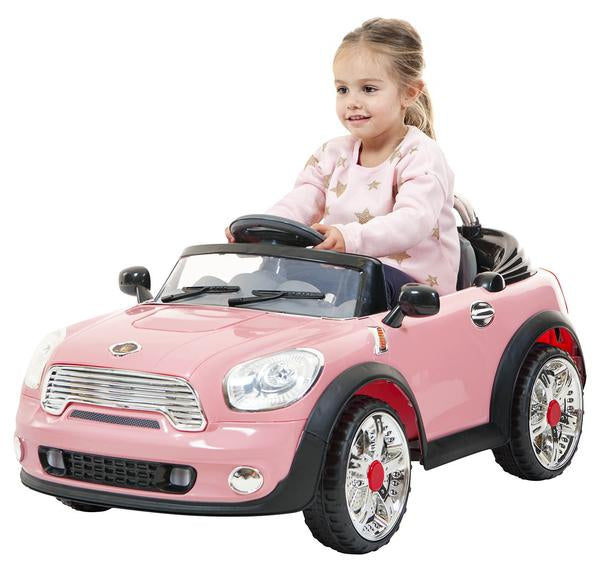 DEMO- Pink mini ride on electric car