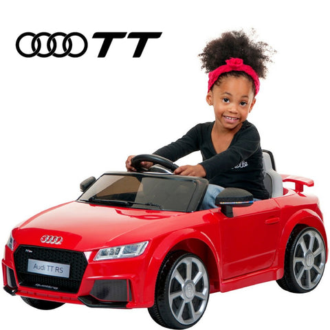 DEMO Audi TT kids ride on car