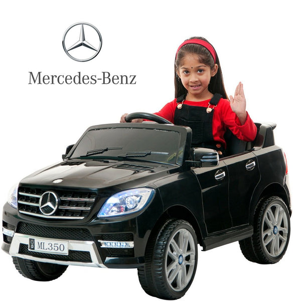 DEMO 12V Electric car for kids Mercedes ML350 battery operated kids ride on car