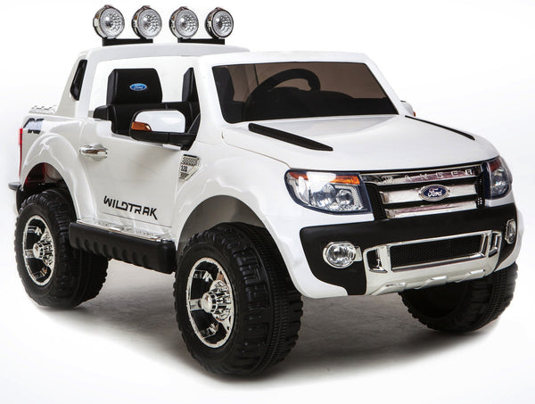 DEMO 12V Ford Ranger 2 seater kids ride on car-white
