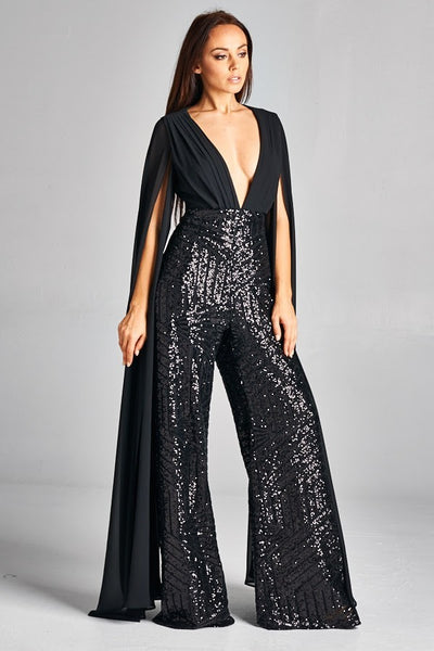 Evening Jumpsuit - DORIA NYC
