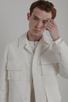Box Jacket | Lab White Ventile