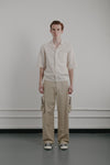 Utility Trouser | Tan Cotton Nylon