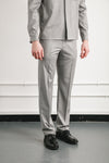 Station Trouser | Grey Repellent Wool