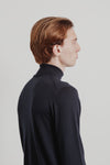 Base Roll Neck | Midnight Merino
