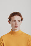 Base Roll Neck | Burst Yellow Merino