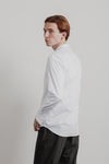 Station Shirt | White Dress Cotton