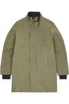 Cover Coat | Olive Dust Ripstop