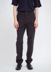 Utility Trouser | Coated Wool