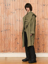 Ultimate Parka | Silk Olive Nylon