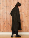Spy Coat | Olive Coated Nyco