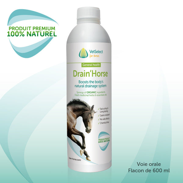 Detox et Drainant cheval – VetSelect for Horses