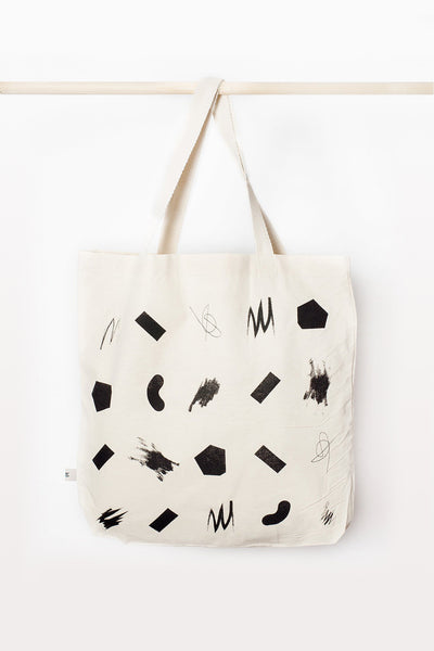 SQUIGGLES SHOPPER BAG - MEDIUM