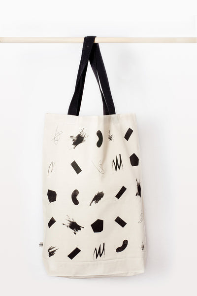 SQUIGGLES SHOPPER BAG - BIG