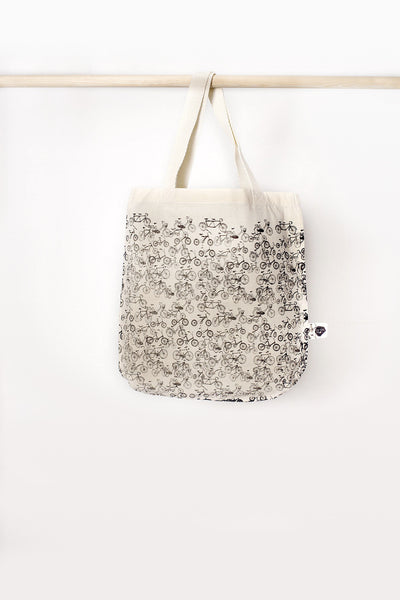 Bicycles Shopper Bag