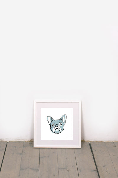 FRENCHIE BULLDOG PRINT