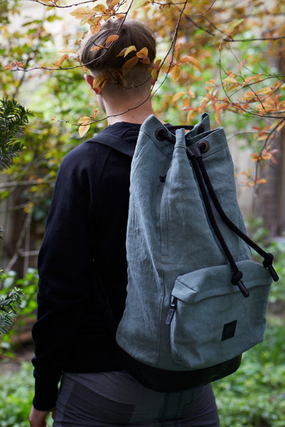 Green & Black Men's Backpack