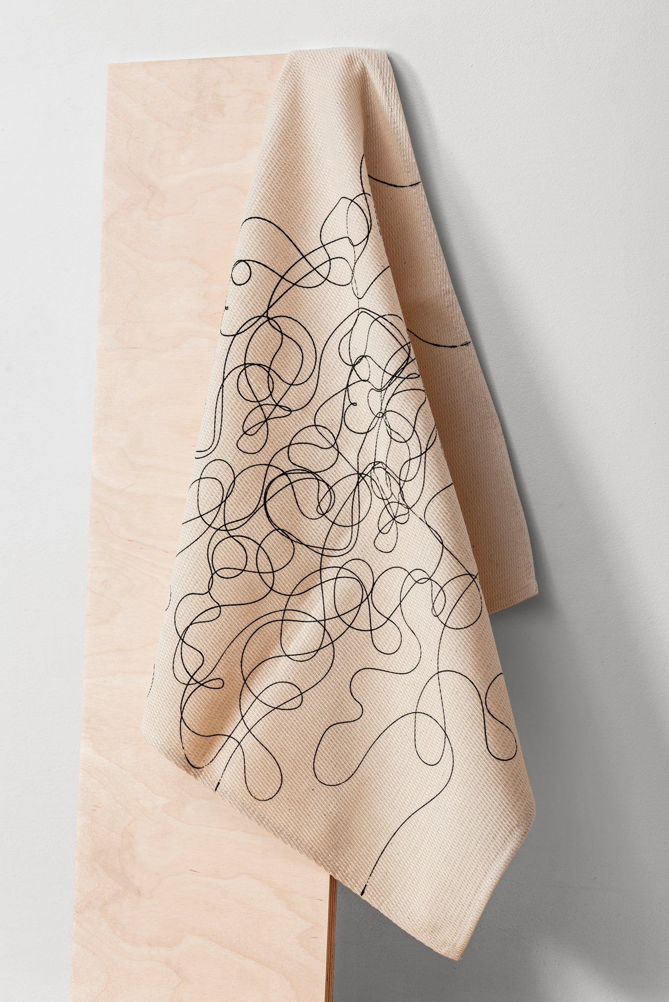 Curlicued Kitchen Towel