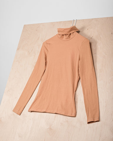 Peach Turtleneck