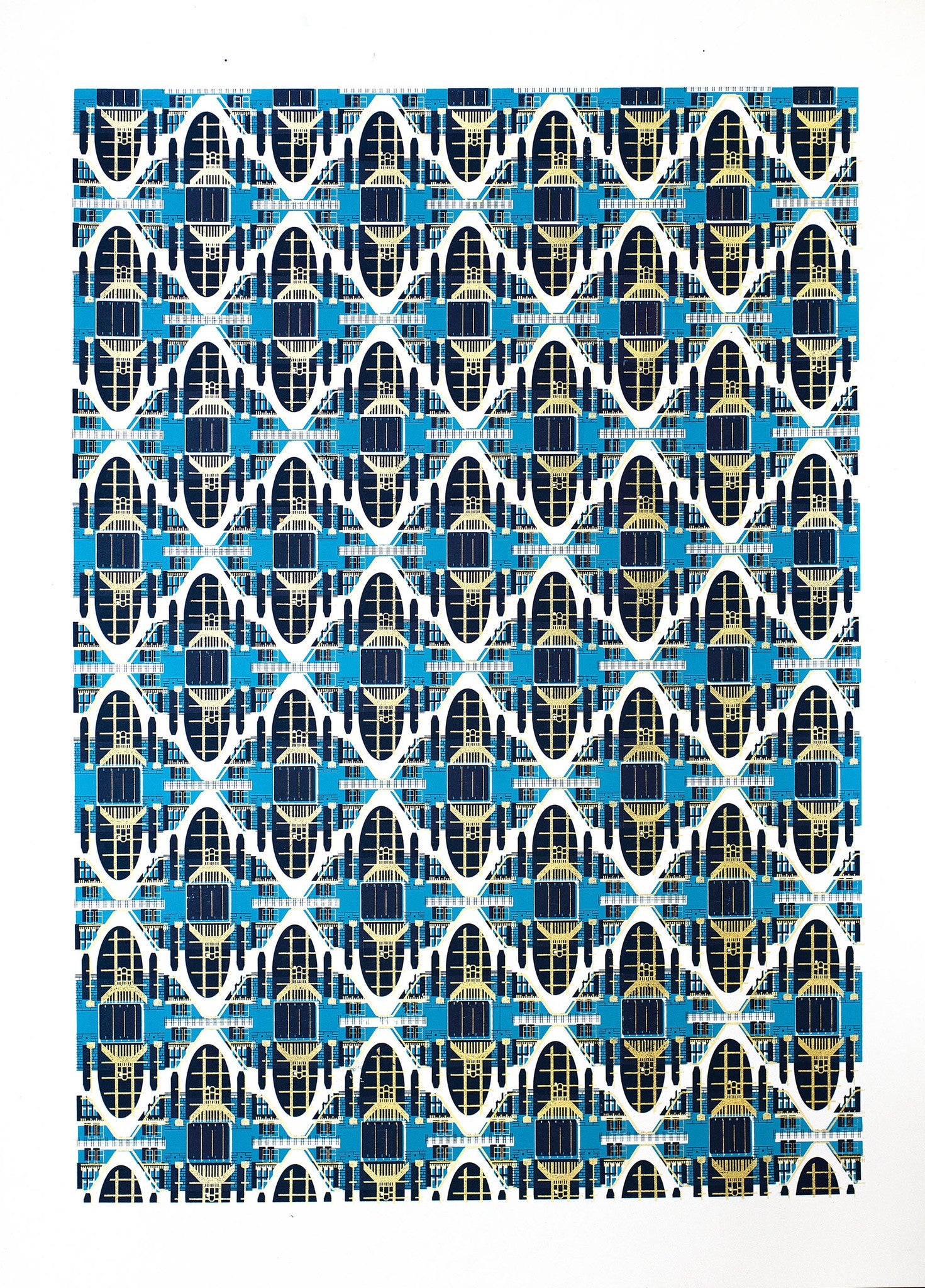 PARISIAN PATTERN PRINT - BIG