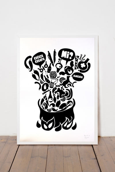 GOULASH PRINT- BIG