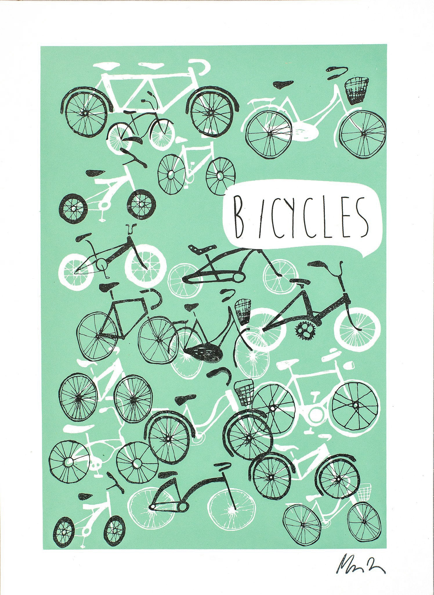 Bicycles - Green