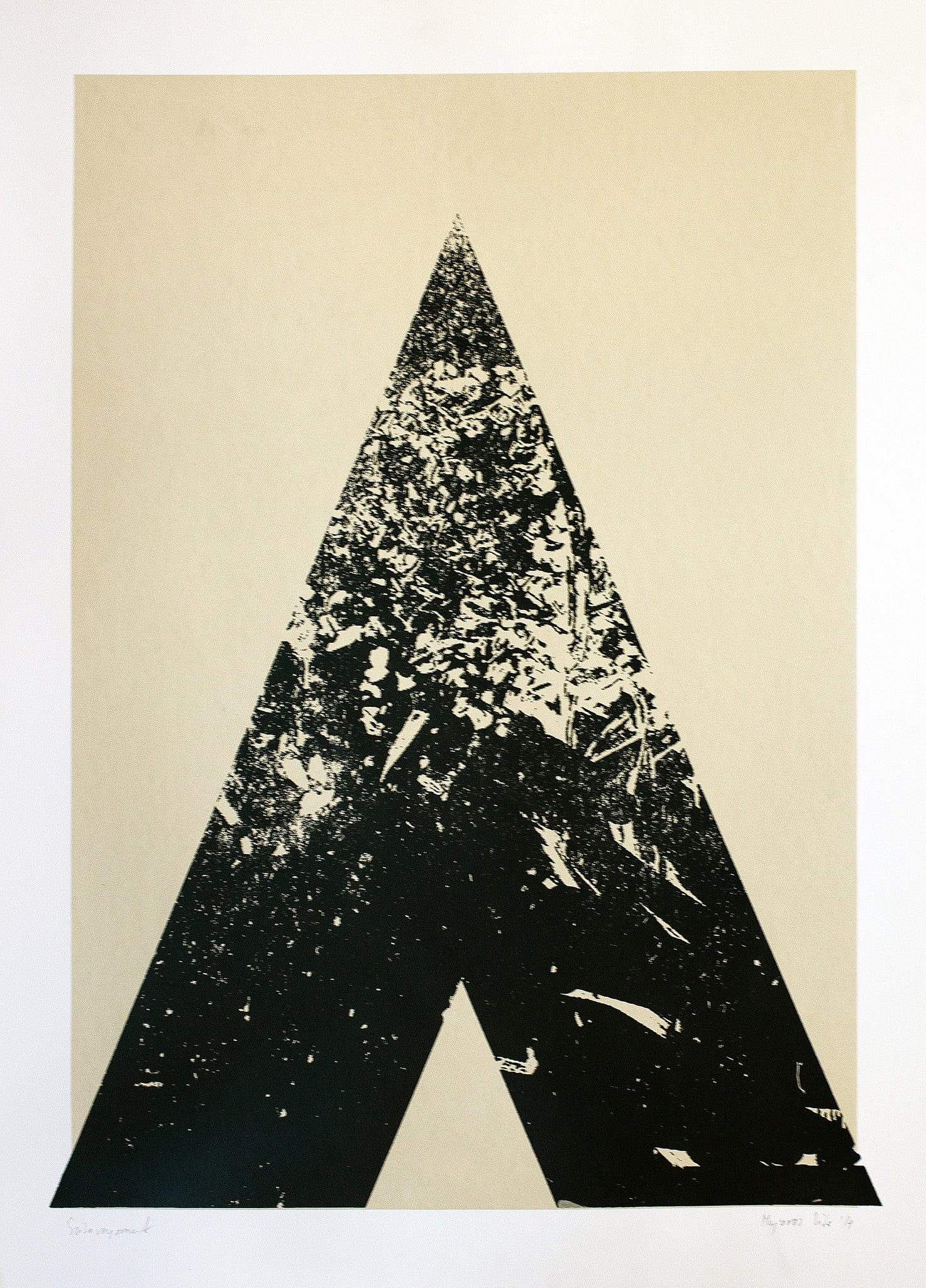 TRIANGLE PRINT - BIG