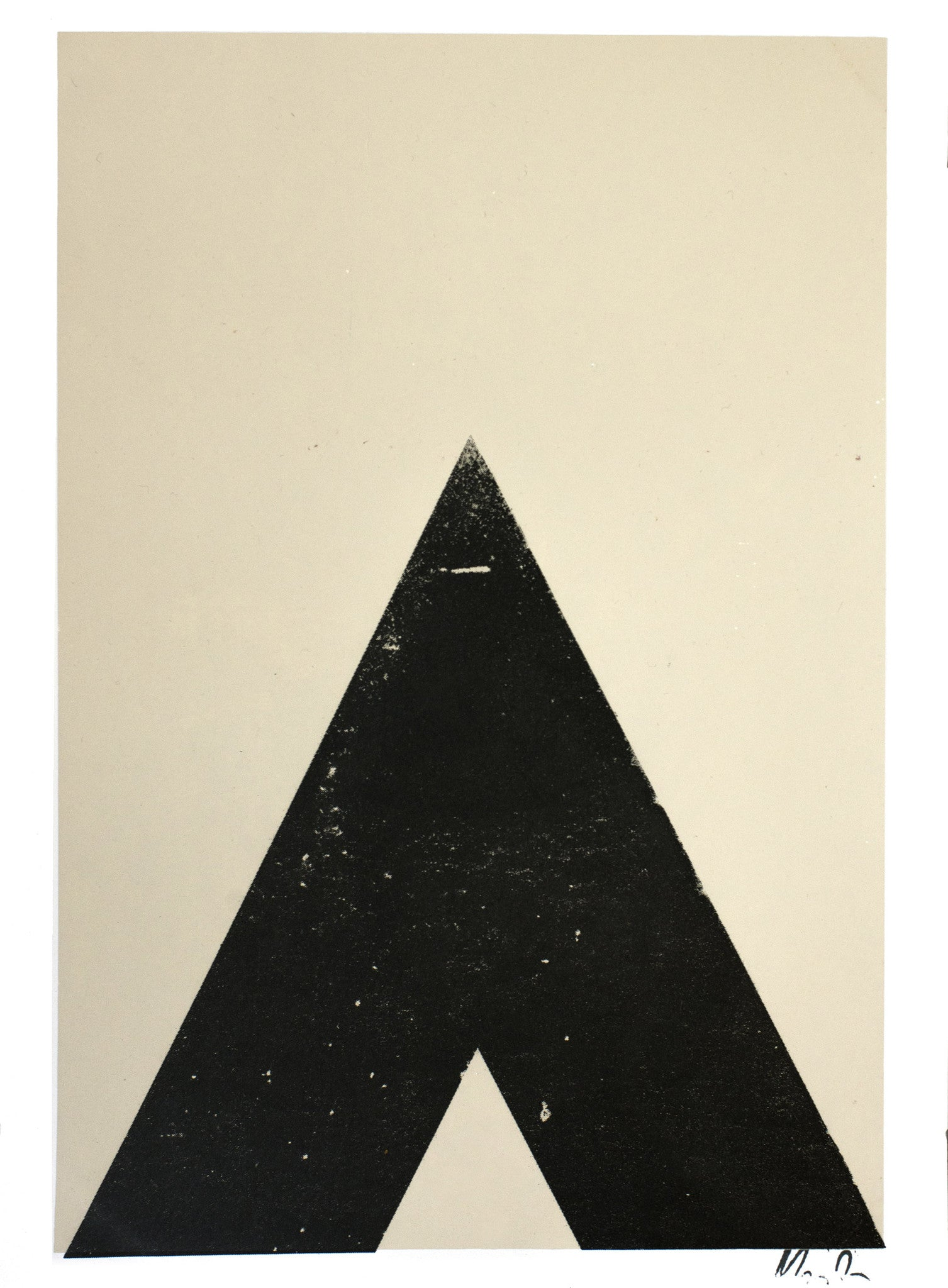 TRIANGLE PRINT - SMALL