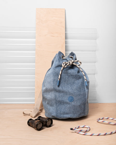Denim Sailor Bag