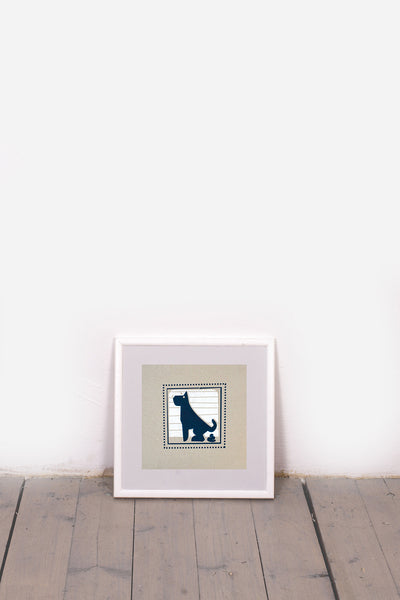 DOG - PICTO PEST PRINT