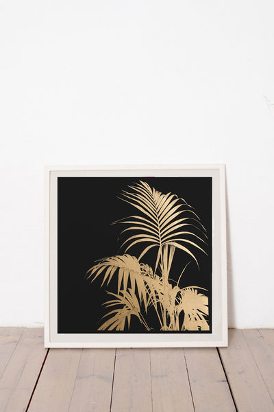 Gold Tropical Plant V