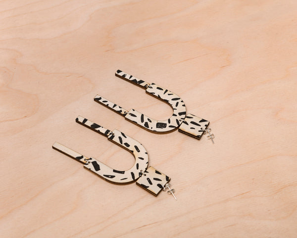 Brushstrokes Earrings
