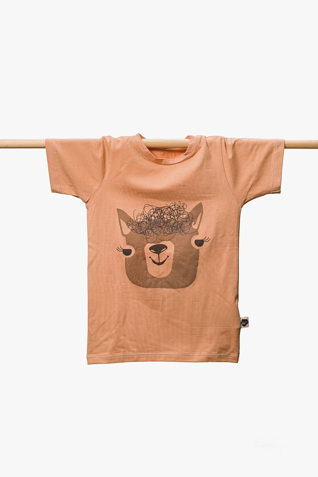 Alpaca T-Shirt - Peach