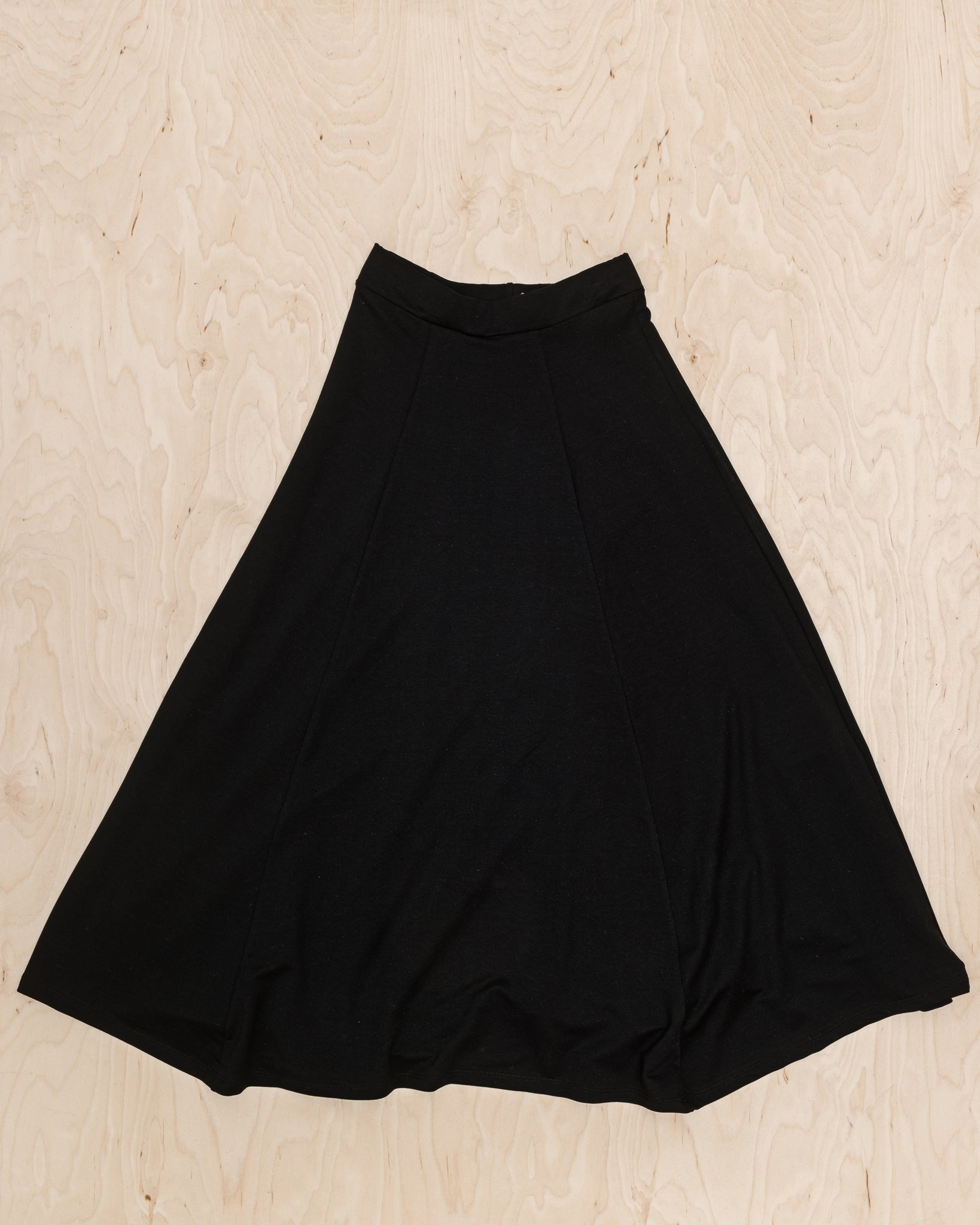 Black Tencel Skirt