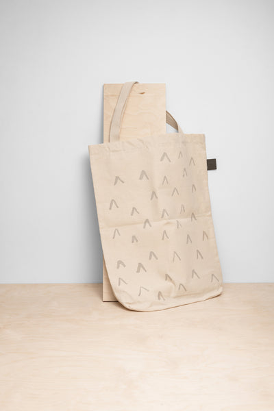 """V"" Large Shopper Bag"