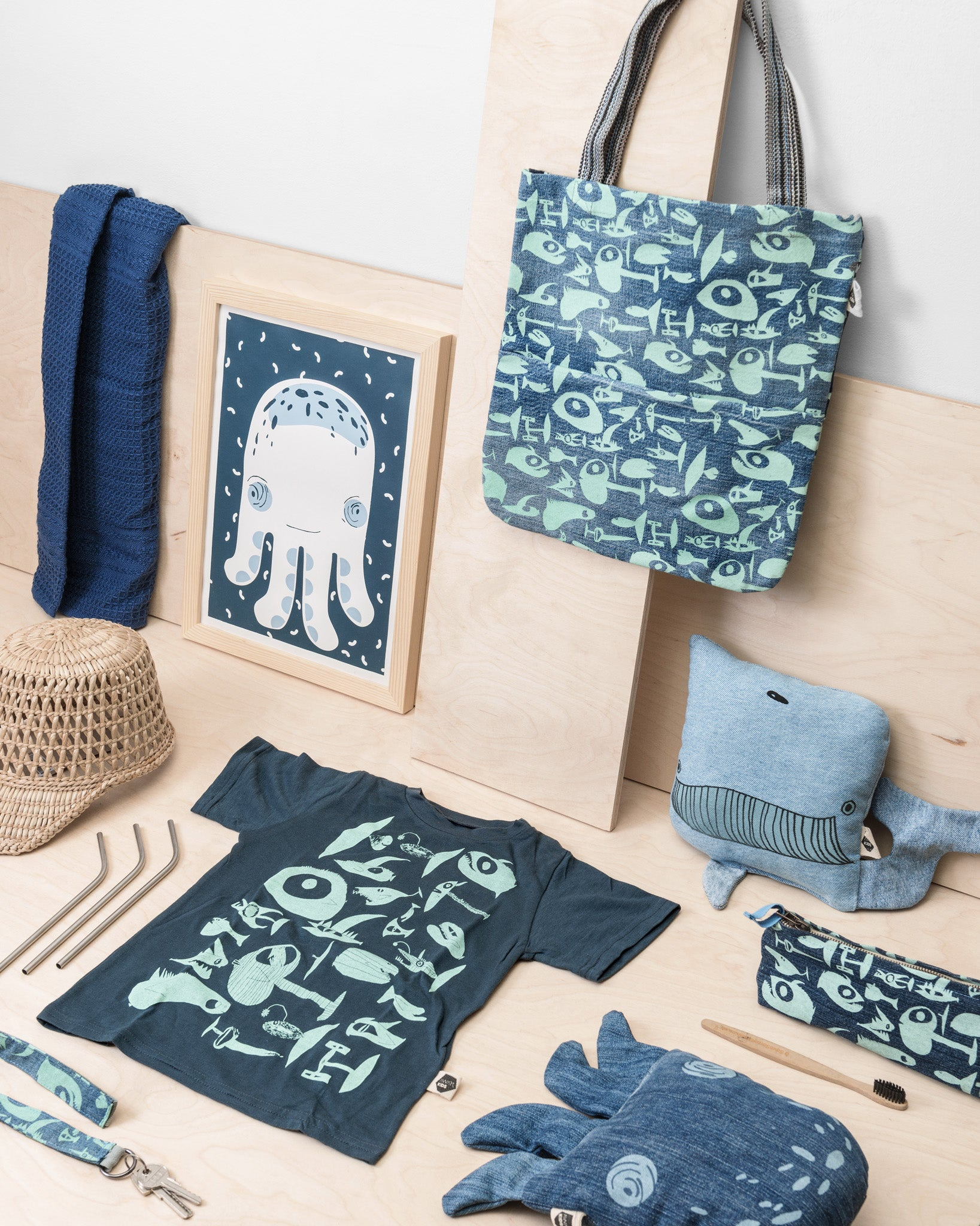 Ocean Kids Shopper Bag