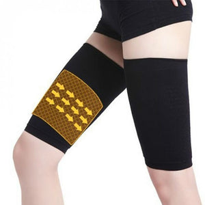 1pair Weight Loss Calories off Compression Arm Leg Shaper Sleeve Varicose Veins Support Tennis Fitness Elbow Socks Slimming Wrap