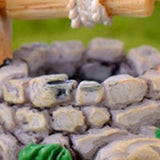 DIY Garden Miniatures Decorations Vintage House Water Well Multicolour Fairy Garden Party Ornament