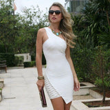 2019 New Summer Bandage Dress Women