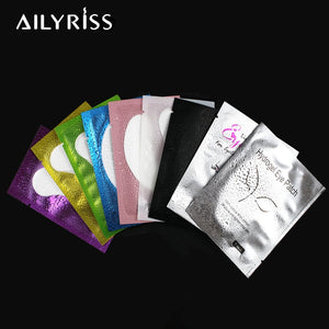 50/100 pairs Eyelash Extension Paper Patches Grafted Eye Stickers Eyelash Under Eye Pads Lint Free Hydrating Eye Paper Patches
