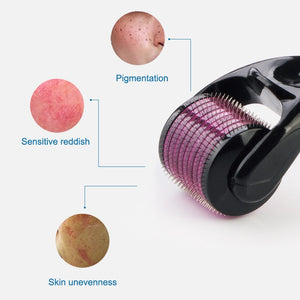 Derma roller micro needles titanium microneedle mezoroller machine for skin care and body treatment