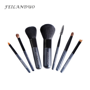 Professional Makeup Brush Set 7pcs High Quality Wool Fiber Makeup Tools Gift With Wash Soap Make Up Brushes