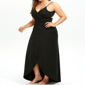 Plus Size Pareo Beach Cover Up
