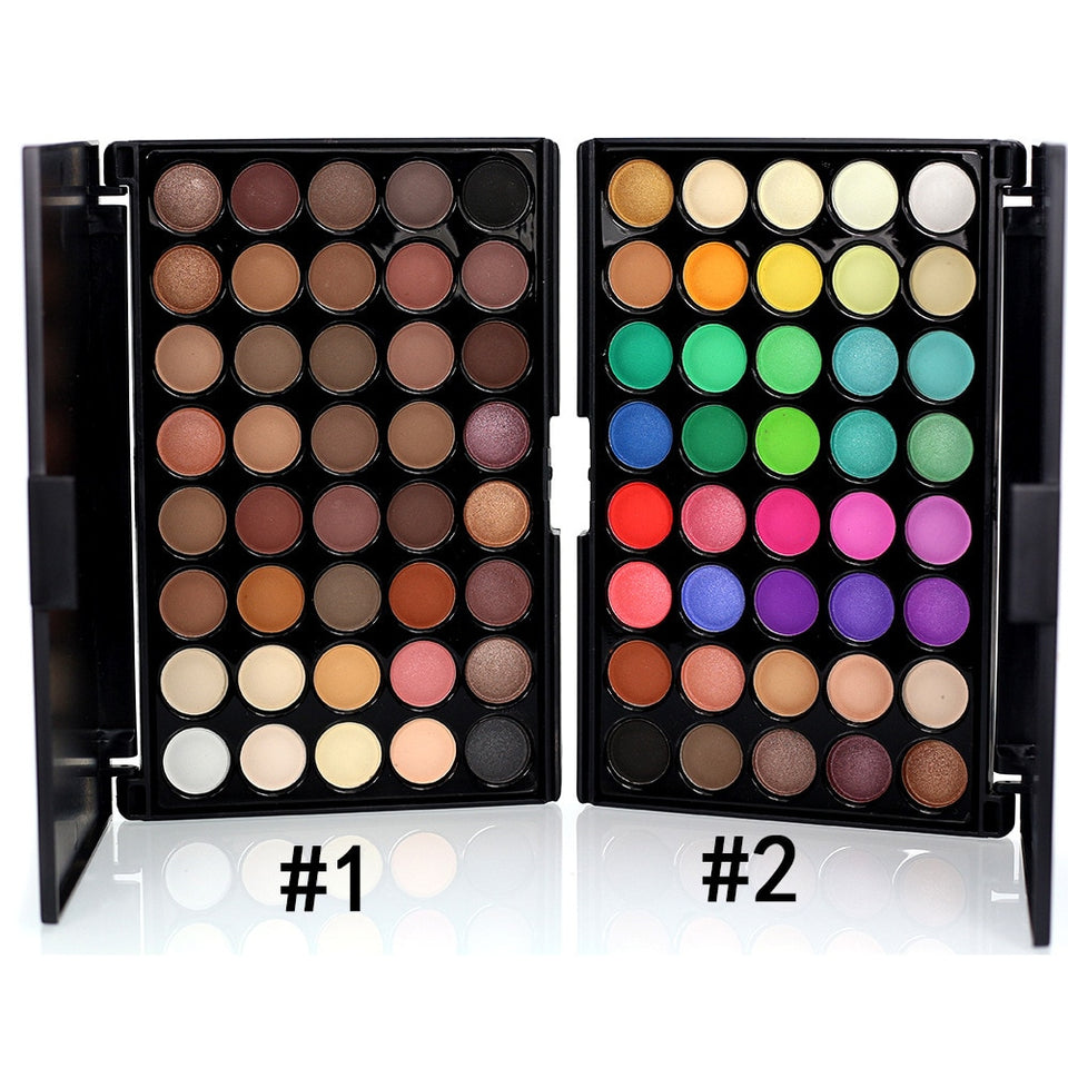 40 Colors Matte Glitter EyeShadow