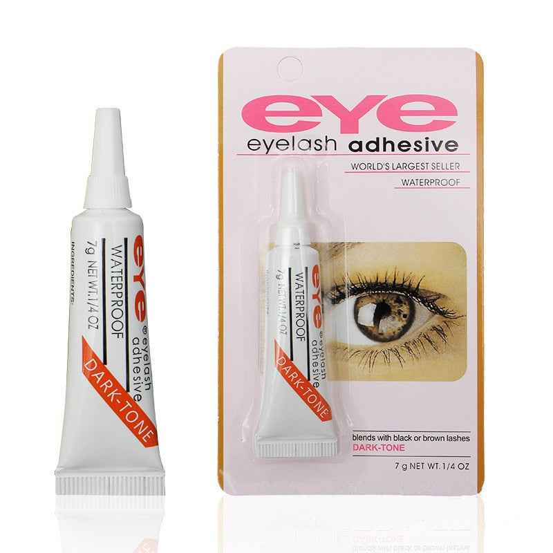 Professional Eyelash Glue Clear white/Dark black Waterproof False Eyelashes Makeup Adhesive Eye Lash Glue Cosmetic Tools