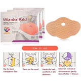 Sliming Patch Set Wonder Slimming Patch Belly Abdomen Weight Loss for Women Fast and Effective Natural Stomach Slimming Patches