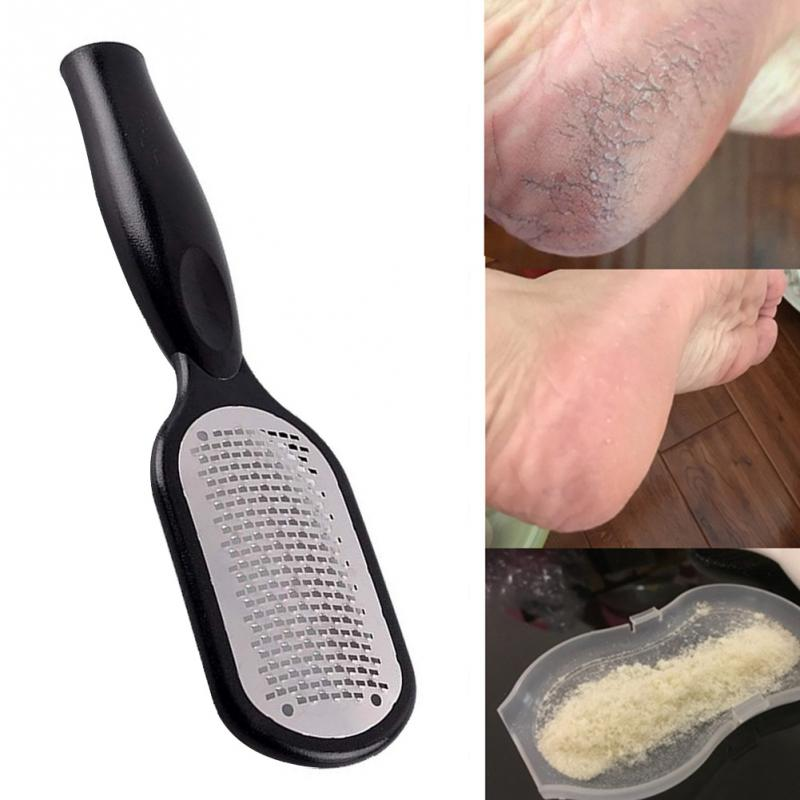 Stainless Steel Callus Remover Foot File Scraper Portable Multifunctional Foot File Foot Care Tools